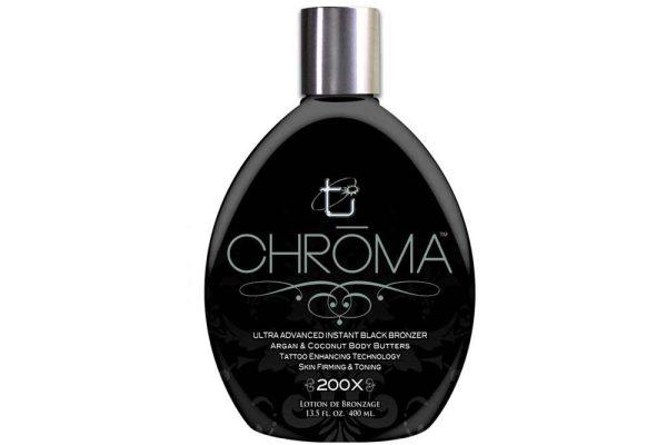 Chroma 200x 400ml Ez az ultra fejlett fekete bronzosító egy igazán remek fejlesztés, ami a tökéletes szín megszerzésére törekszik.